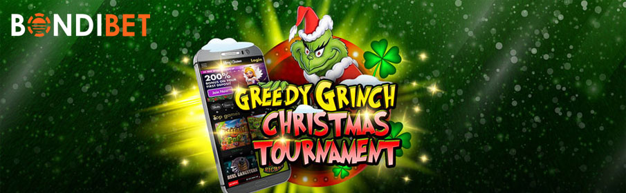 Bondibet Casino Greedy Grinch Promotion