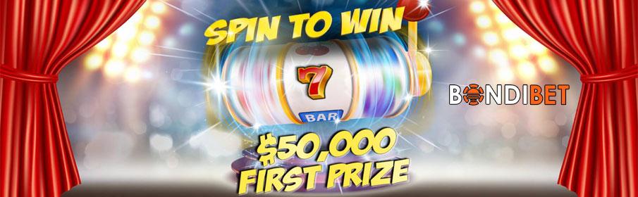 Bondibet Casino Spin to Win Promotion