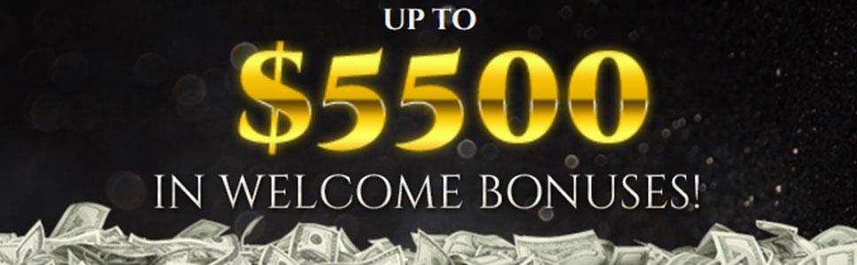 Bovegas casino Welcome Offer