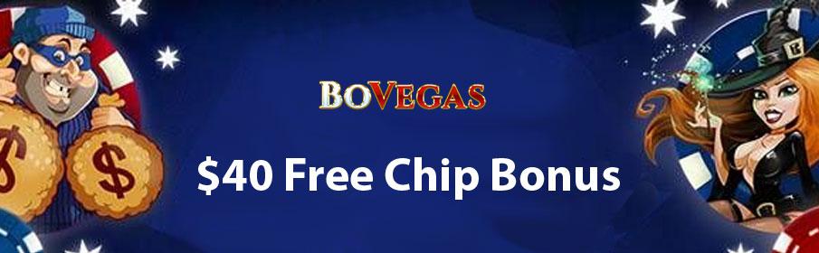 BoVegas Casino Free Chip Bonus