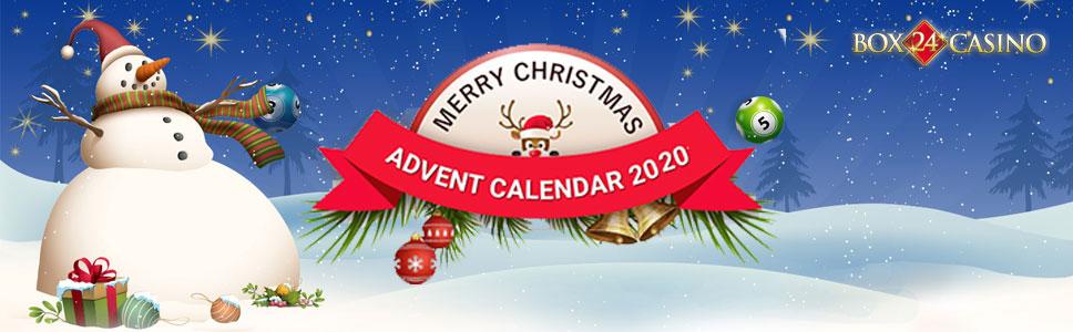 Advent Calendar Promotion at Box24 Casino