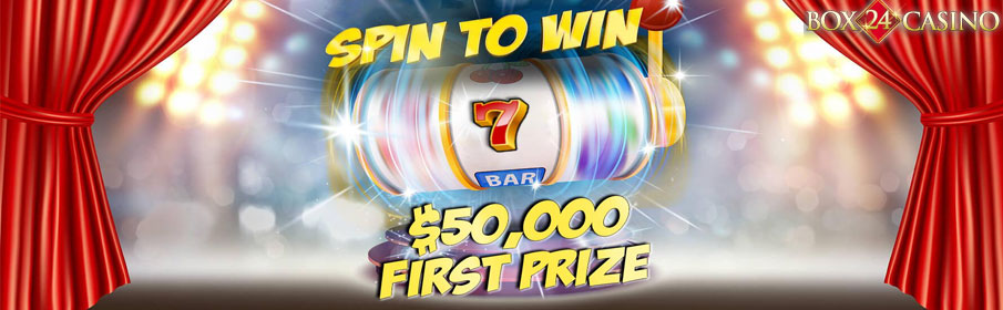 Box24 Casino Spin to Win Promotion