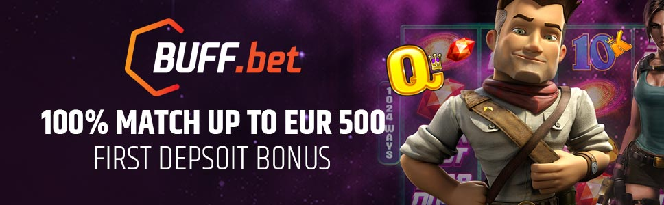 Buff.bet Cassino First Deposit Bonus