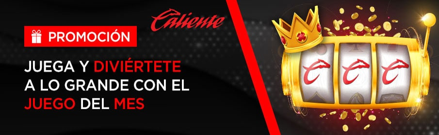 Caliente Casino Game of the Month Offer