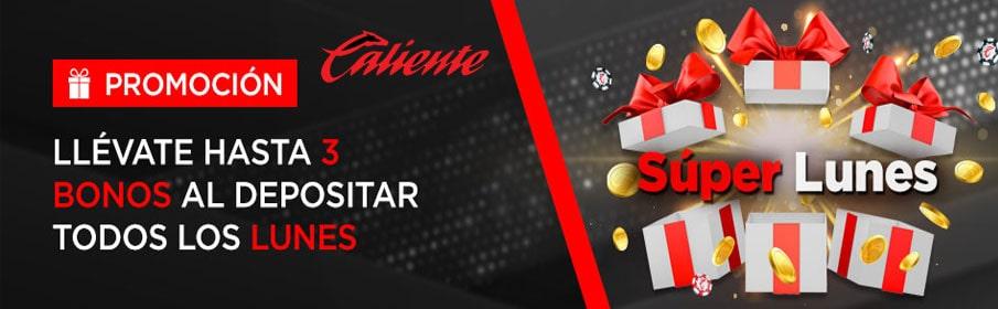 Caliente Casino Monday Match Bonus