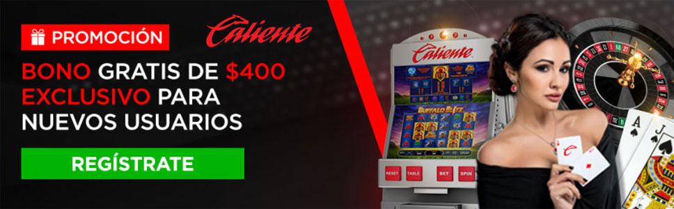 Caliente Casino No Deposit Bonus