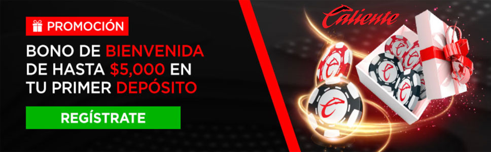 Caliente Casino Sign Up Offer