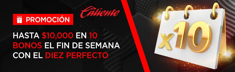 Caliente Casino Weekend Offer