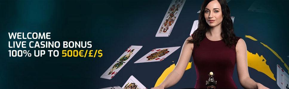 Campeonbet Live Casino Signup Bonus Up To 500