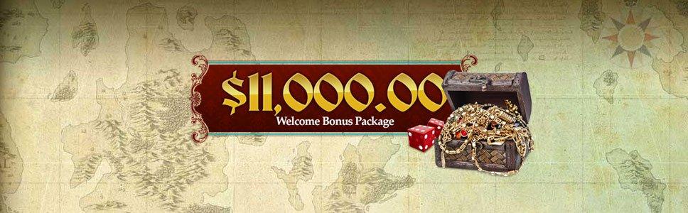 Captain Jack Casino New Player Bonus Match Bonus Up To 11 000