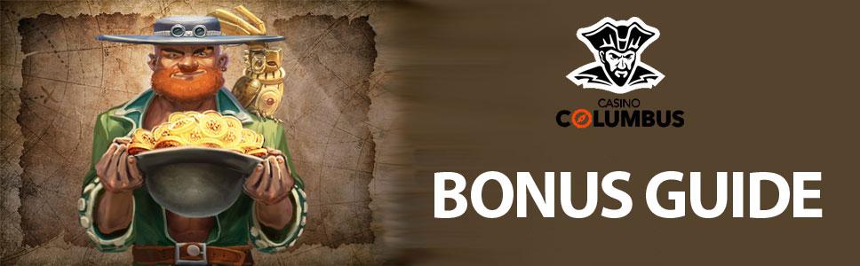Casino Columbus Bonuses & promotions