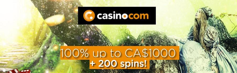 Casino.com New Player Bonus –