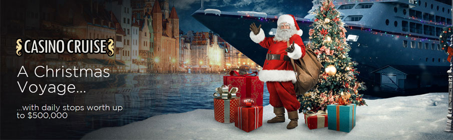 Prize Pool of $500,000 via Christmas Promotion at Casino Cruise