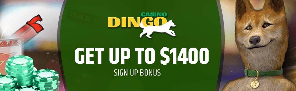 Casino Dingo Welcome Bonus