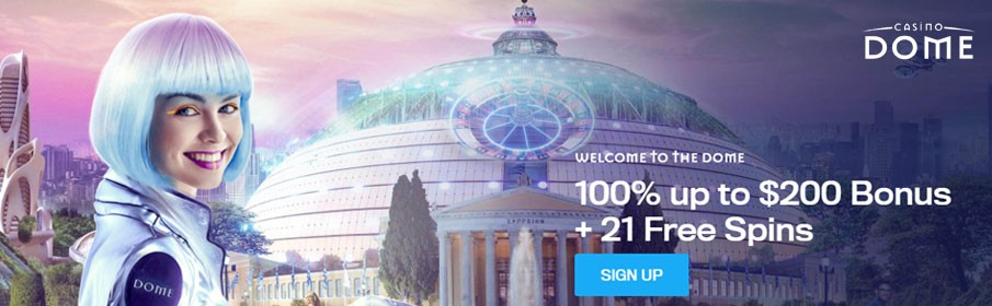 Casino Dome First Deposit Bonus