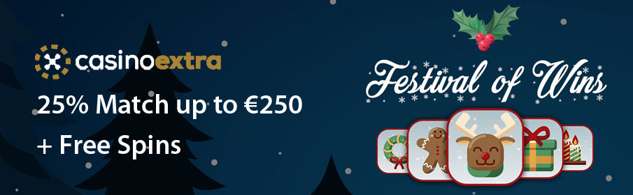 'Festival of Wins' Christmas Promotion at Casino Extra