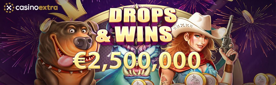 Casino Extra Daily Drops & Win Offer