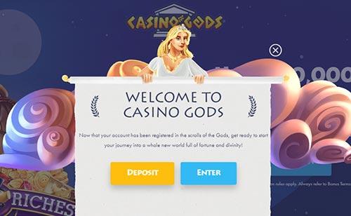Cadsino Gods Deposit