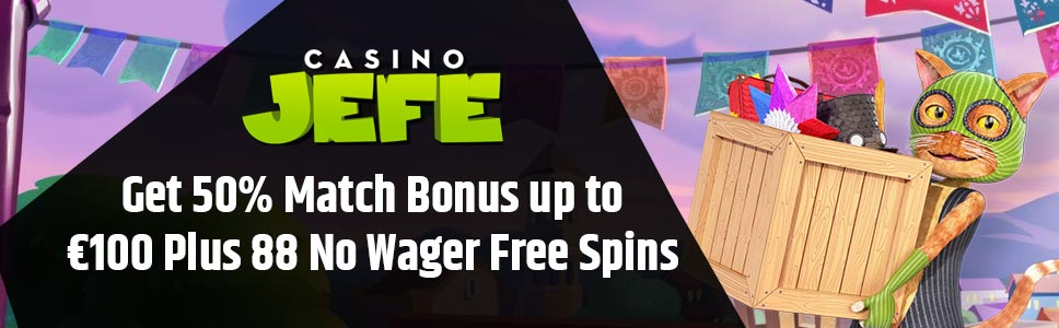 Casino Jefe Second Deposit Bonus