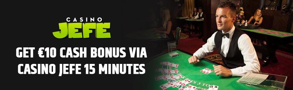 Casino Jeffe Support Bonus