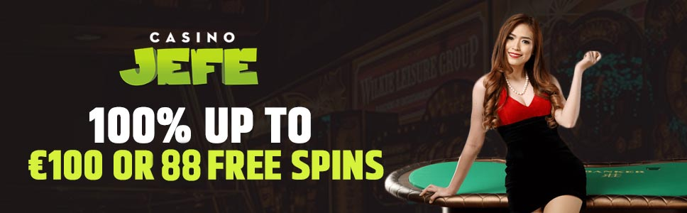 Casino Jeffe Welcome Bonus