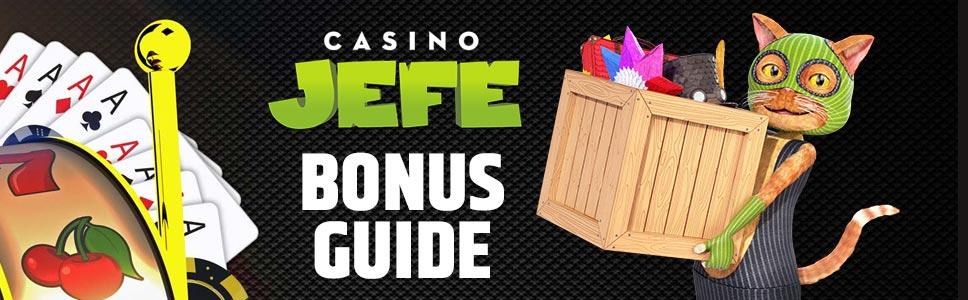 Casino Jefe Bonus Promo Codes