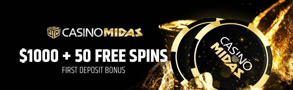 Casino Midas Welcome Bonus