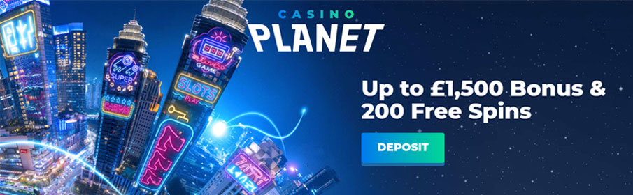 Casino Planet New Player Bonus