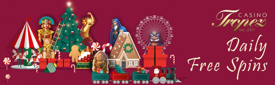 Casino Tropez Christmas Calendar – Get Daily Free Spins