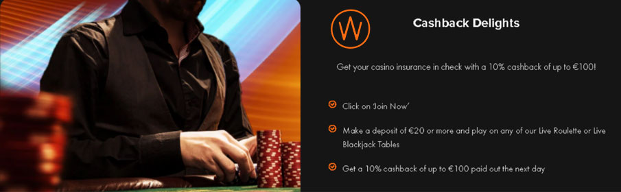 Casino Winner Daily Cashback Bonus