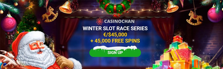 Winter Slot Race Series at CasinoChan