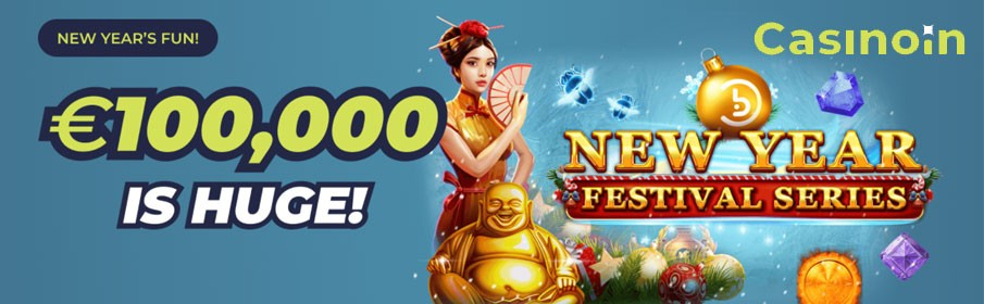 Casinoin New Year Festive Series Promotion