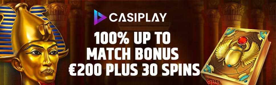 CasiPlay Casino Welcome Offer