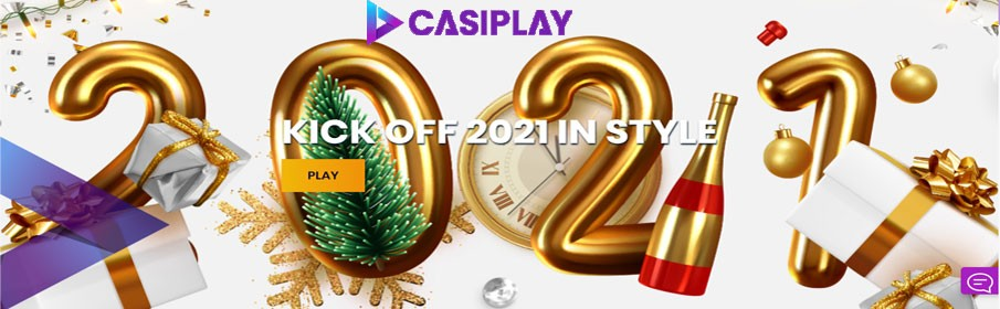 Casiplay Casino Kick off 2021 in Style Promotion
