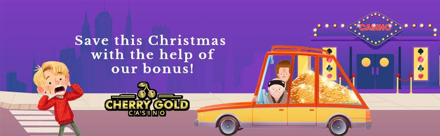 275% Match Bonus Plus 45 Free Spins at Cherry Gold Casino