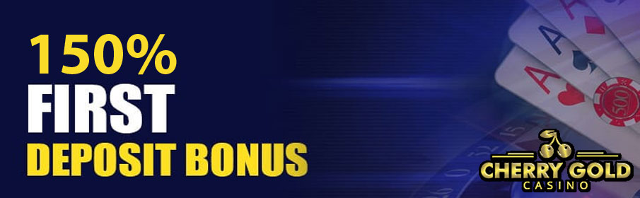 Cherry Gold Casino First Deposit Bonus