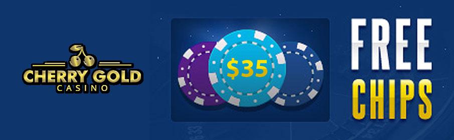 Cherry Gold Casino Free Chip Bonus