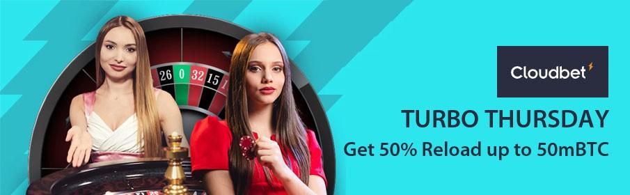 Cloudbet Casino Turbo Thursday Promotion