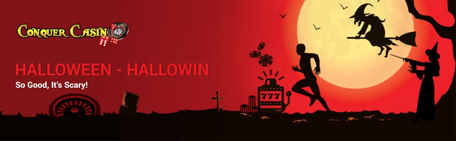 Conquer Casino HalloWIN Promotion