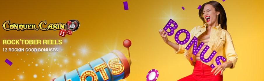 Conquer Casino Monthly Bonus