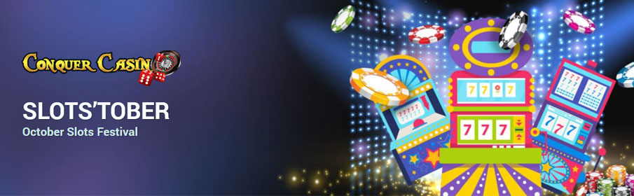 Conquer Casino Slots'Tober Promotion
