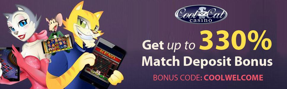 Cool Cat Casino Welcome Bonus