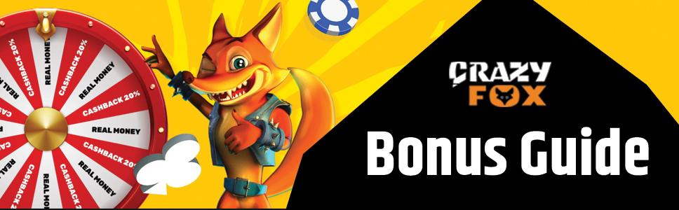 Crazy Fox Casino Bonuses & Promotions