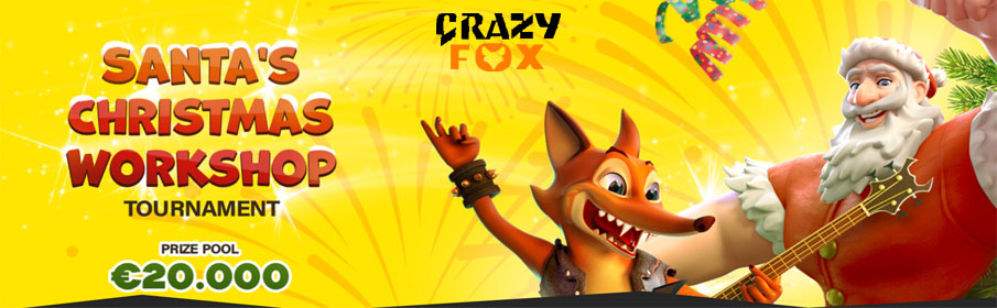 Crazy Fox Casino Santa's Christmas Workshop Tournament