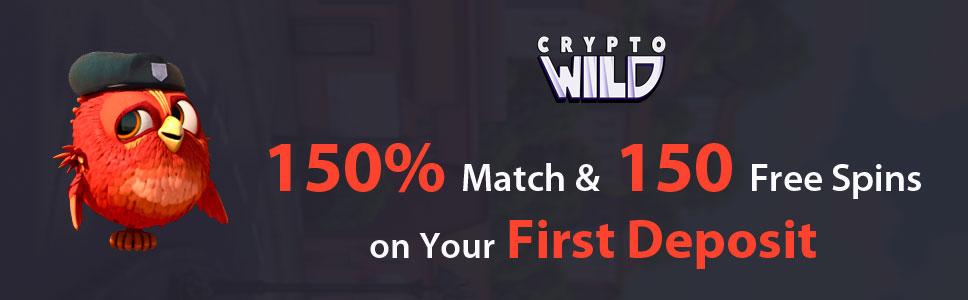 Cryptowild Casino Welcome Bonus