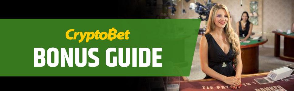 CryptoBet Casino Welcome Bonus