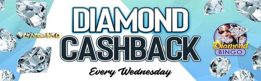 Cyber Bingo Diamond Cashback Promotion