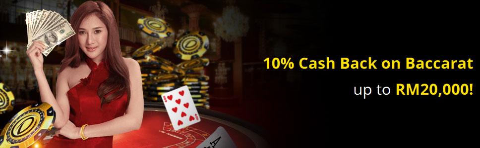 Dafabet Casino Cashback Offer