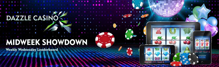 Dazzle Casino Midweek Showdown Bonus