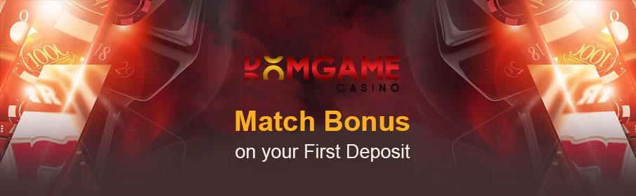 DomGame Casino First Deposit Bonus